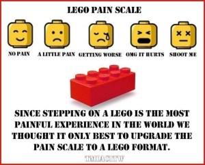 lego pain scale