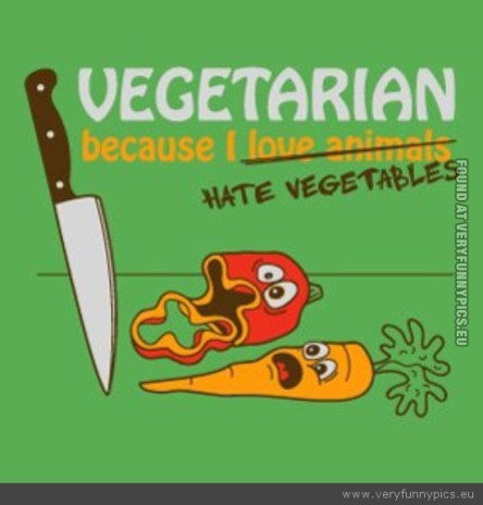 funny-picture-vegetarian-because-i-hate-vegetables