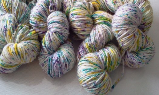 Speckled Yarn