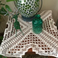 Vintage Look Crochet Doily