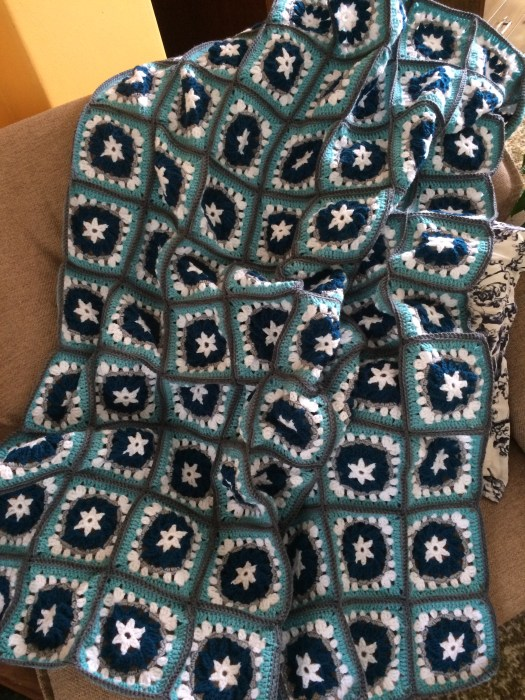 Granny Square Blanket