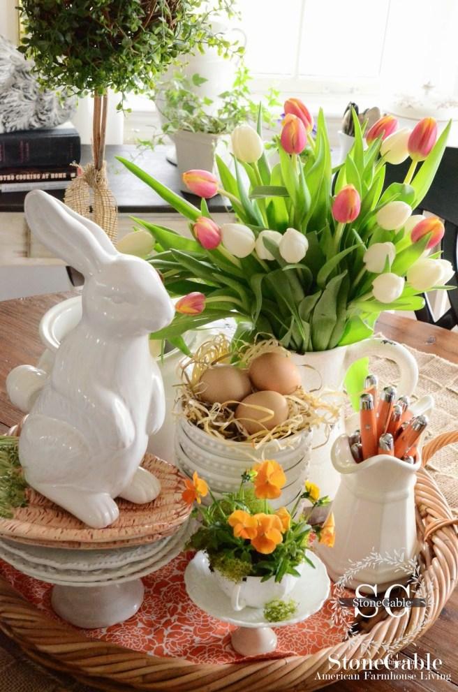 Spring-Kitchen-Vignette-top view-stonegableblog.com.jpg