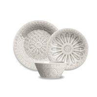 Ibiza+12+Piece+Melamine+Dinnerware+Set
