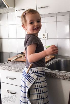 Girl at Sink