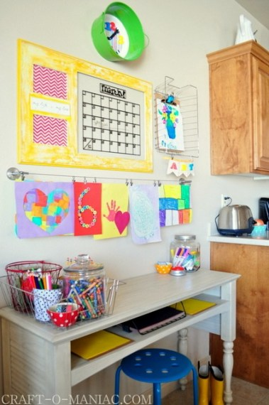 Kids Art Display, Study Area