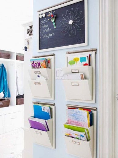 Organize Files in Wall Storage