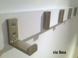 Ikea Hooks on A Board