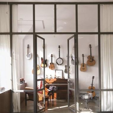 Glass Wall of Guitars