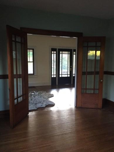 littleblackdomicile - Kristen's House During First Phase of Painting