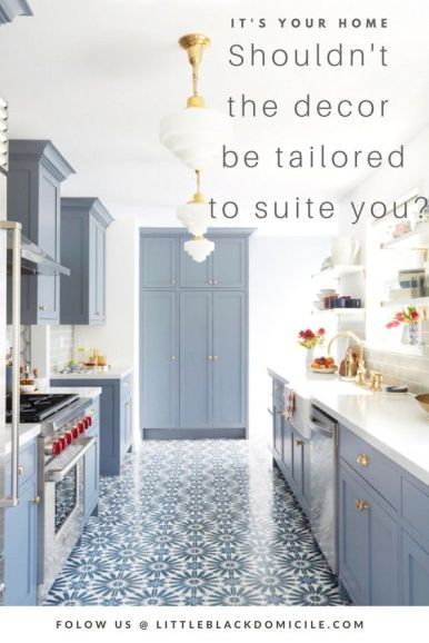pinterest blue and white kitchen