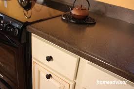 laminate counter tops and black appliances -homesadvisor.com