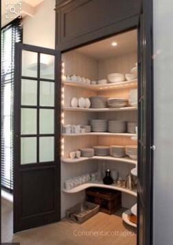 pantry designated to dish storage via continetacottageb