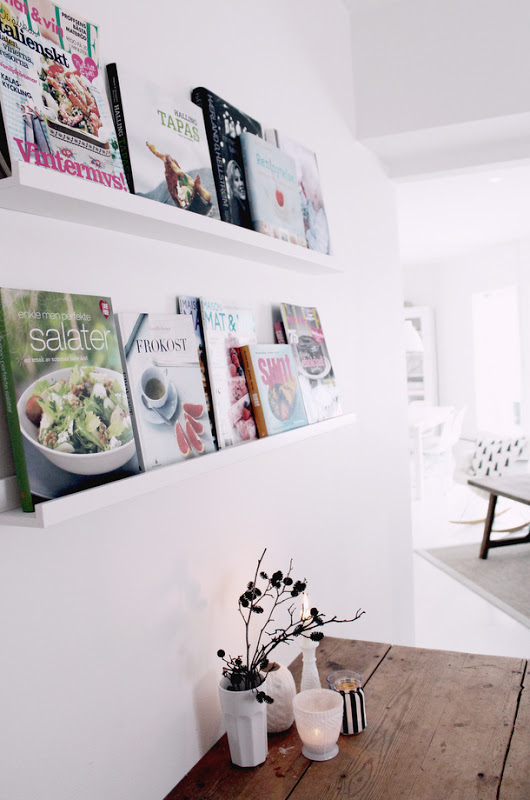 Ledge Wall Shelves For Cookbooks