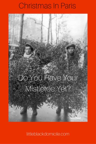 Do You Have YourMistletoe Yet?