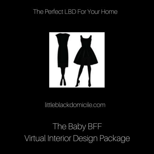 The BabyBFF Virtual Interior Design Package @littleblackdomicile