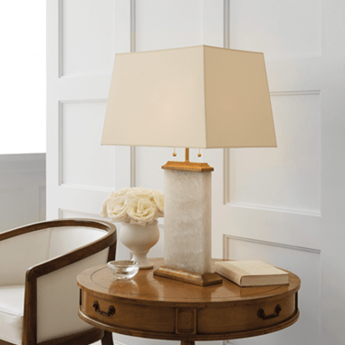 visual comforts mother of pearl lamp