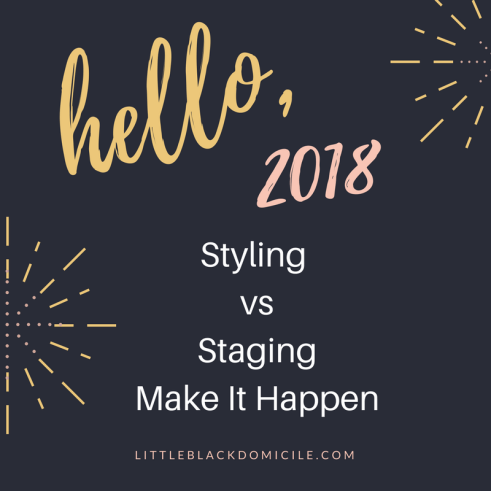 littleblackdomicile styling vs staging