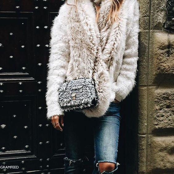 Gramfeed Fur Jacket