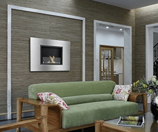Ethanol Wall Mounted Fireplace