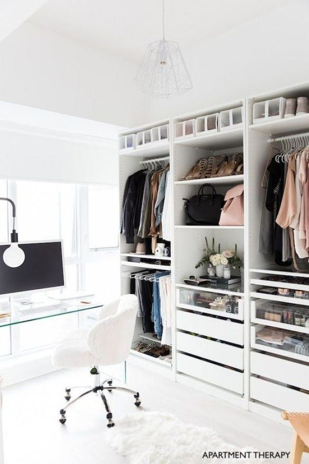 Apartment Therapy Closet Office
