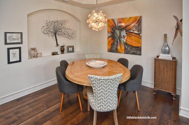 littleblackdomicile and laurelbledsoedesign dining room