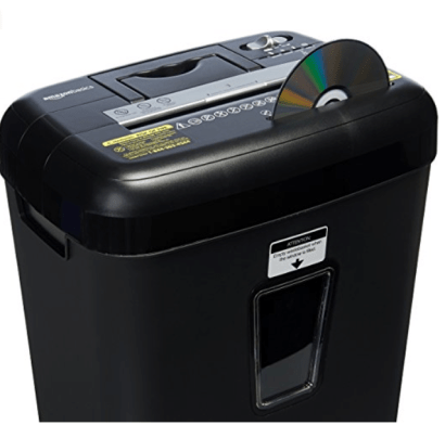 Amazon Paper Shredder