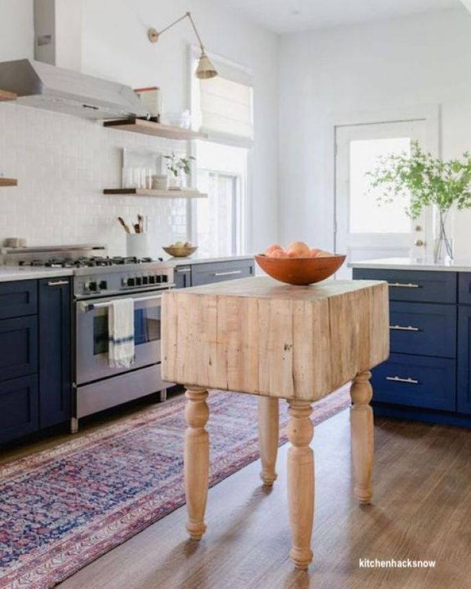 kitchenhacksnow butcher block island