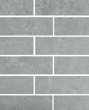 gray brick subway tile- littleblackdomicile