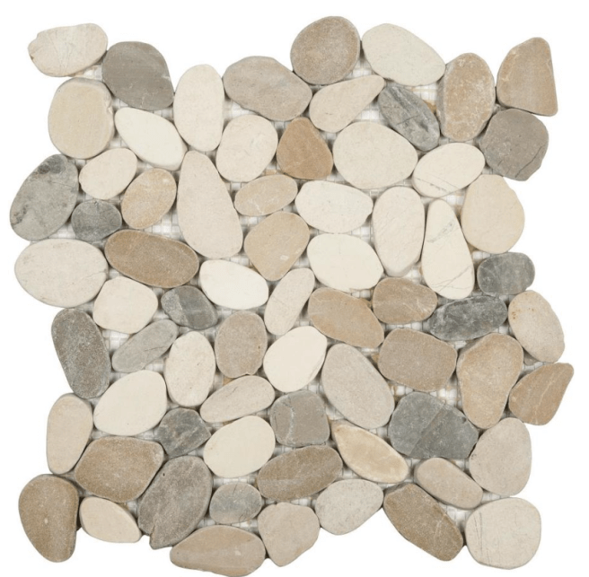 Pebble Floor Tile-littleblackdomicile