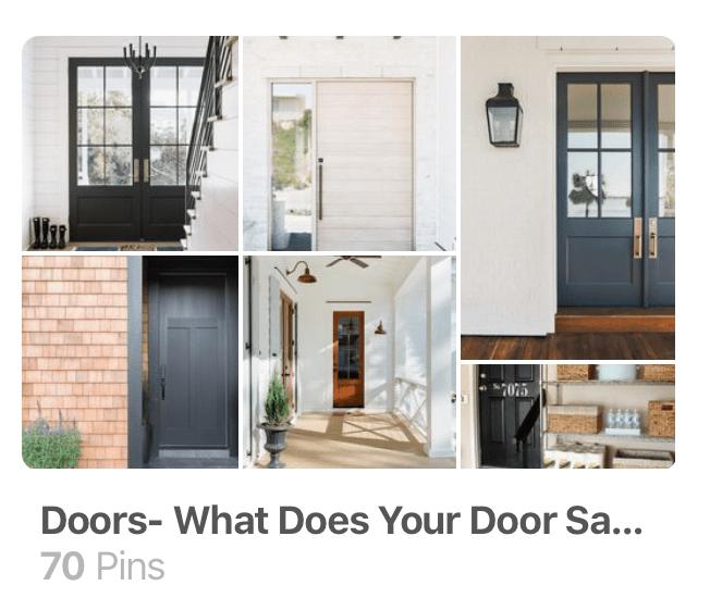 doors and littleblackdomicile on Pinterest