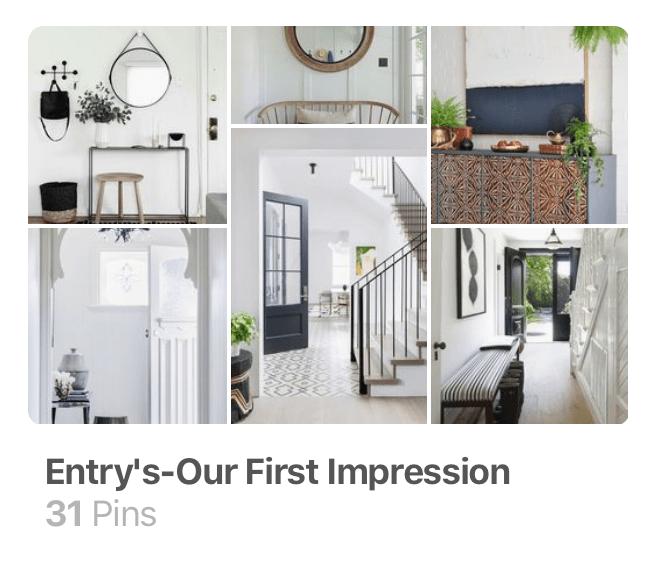 littleblackdomicile-pinterest-foyer ideas-entry ideas-first impressions
