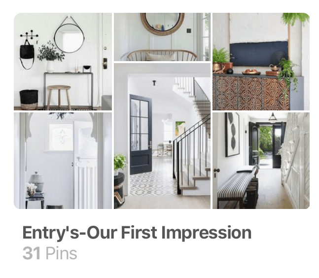 littleblackdomicile-pinterest-foyer ideas-entry ideas-first impressions