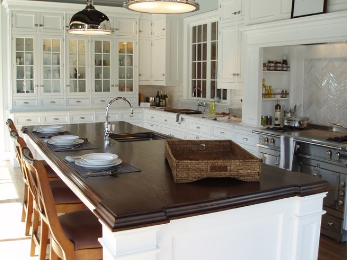 houzz-traditional-kitchen-wood countertops