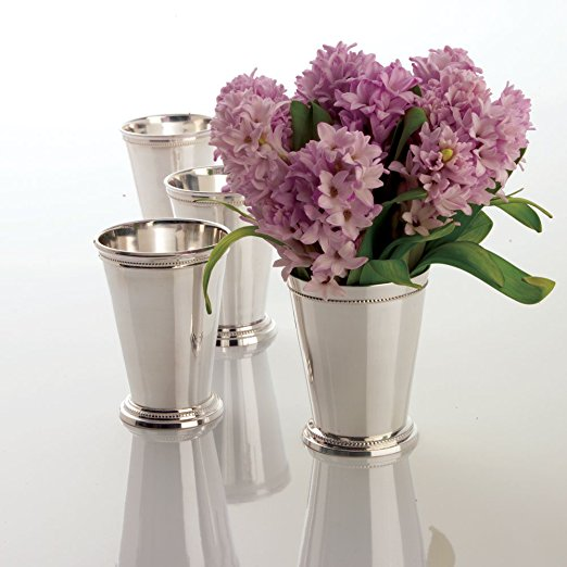 silver plate mint julep cups