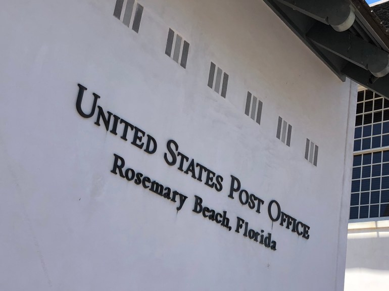 rosemary beach florida united states post office
