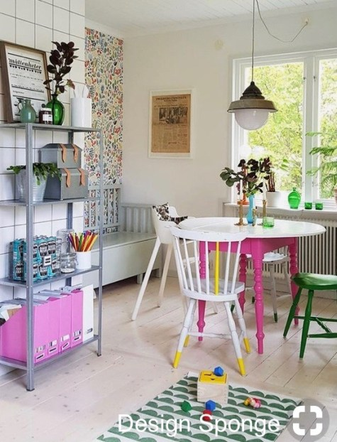 design sponge kids playroom exploding with fantastic paint colors