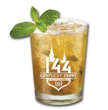 Kentucky Derby Mint Julep Glass