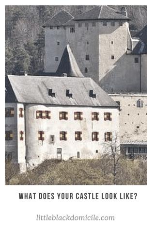 littleblackdomicile.com pinterest what does your castle look like?