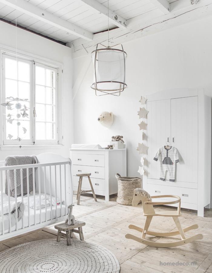 all white nursery home deco.m