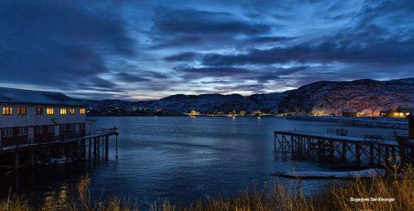 Bugøynes Sør-Varanger- blue sunset