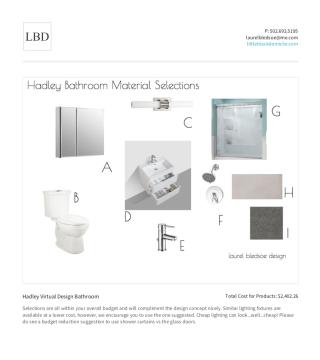 laurel bledsoe design- virtual design packages - little black domicile