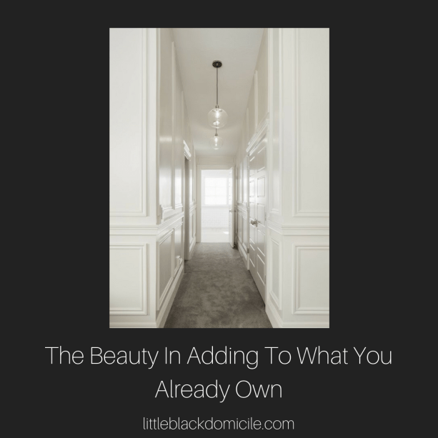 littleblackdomicile- the beauty in adding to what you already own-interior renovations