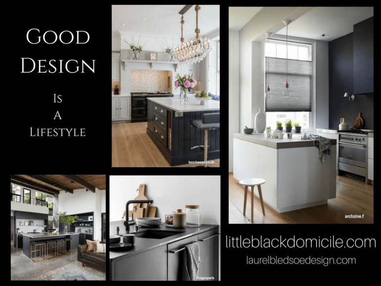 littleblackdomicile.com-pinterest-black and white kitchens