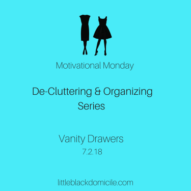 De-Cluttering-Organizing-Series-Motivational-Monday-Vanity-Drawers