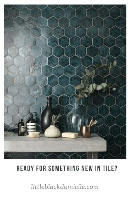 littleblackdomicile.com - tile-blue-green-honeycomb-hexagon
