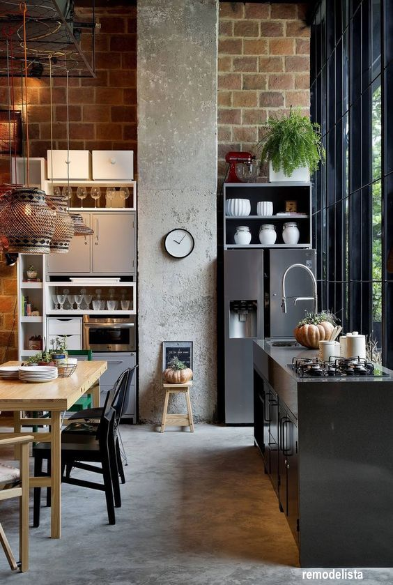 remodelista-deconstructed-kitchen-concrete-floors-brick-walls