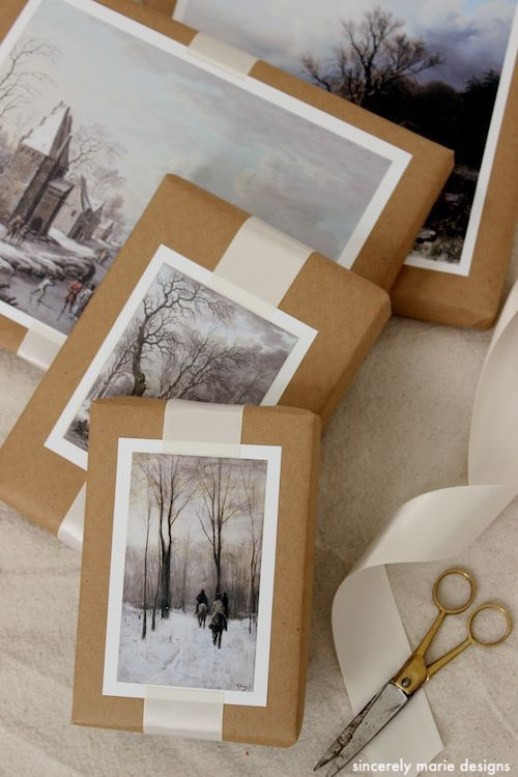 sincerelymariedesigns-winter-scenes-brown=paper-wrap