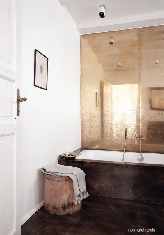 norm architects-copper-mirrors-bathroom-design-freestanding-tub