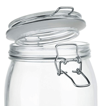 glass-rubber -seal-paint-storage-jars