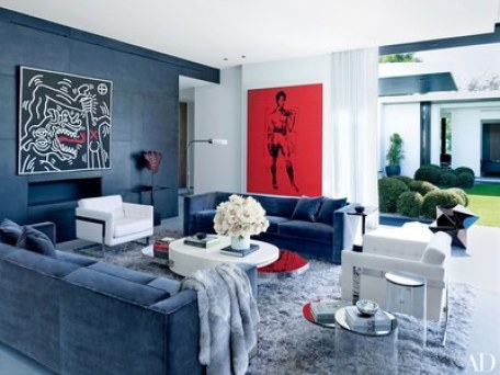 Architectural Digest-patriotic-decor
